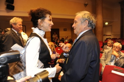 Luisa Todini e Pierfrancesco Guarguaglini