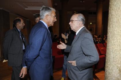 Carlo Rossella e Rinaldo Petrignani