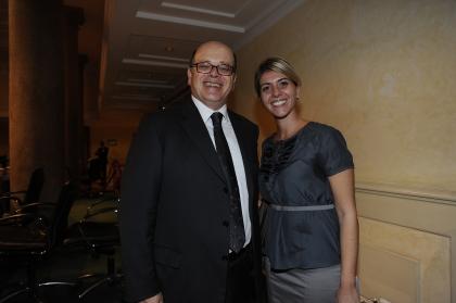 Lucio D'Ubaldo e Samantha Lavigna
