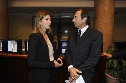 Annagrazia Calabria e Michele Cucuzza