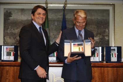 Massimo Vannucci e Carlo Rossella