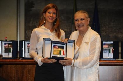 Gabriella Giammanco e Laura Biagiotti