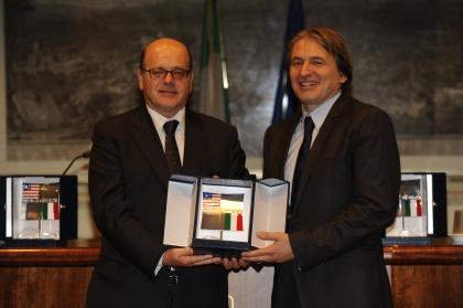 Lucio D'Ubaldo e Antonio Campo dall'Orto