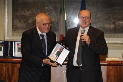 Edward Luttwak e Lucio D'Ubaldo