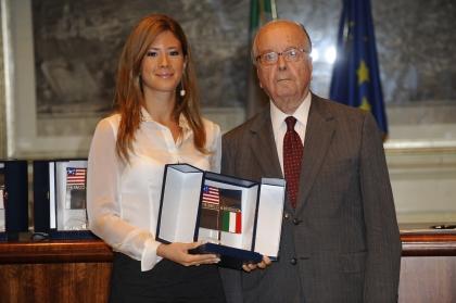 Gabriella Giammanco e Rinaldo Petrignani