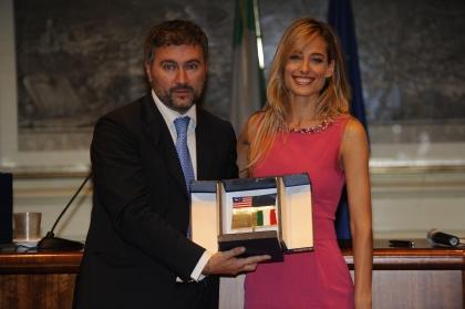 Alessio Bonciani e Jessica Polsky