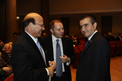 Emilio Iodice, Corrado Maria Daclon e Rocco Girlanda