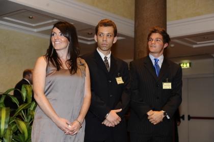 Colleen Calvey, Grzegorz Robak e Matthew Ruggirello