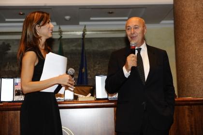 Veronica Maya e Paolo Mieli