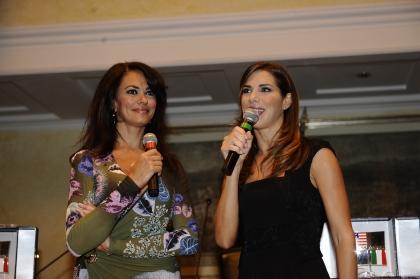 Maria Grazia Cucinotta e Veronica Maya