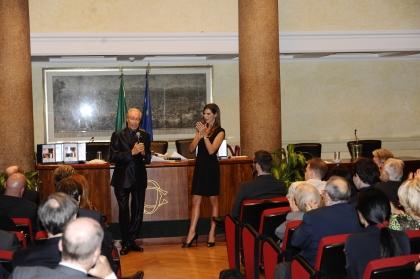 Renato Balestra e Veronica Maya