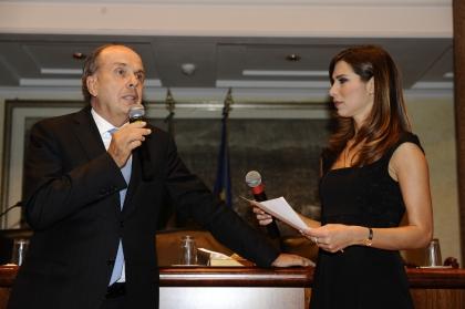 Umberto Paolucci e Veronica Maya