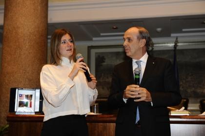 Annagrazia Calabria e Umberto Paolucci